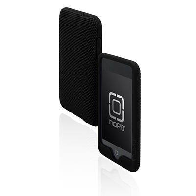 Incipio iPod touch 2G Microtexture Silicone Case- Black