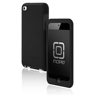 Incipio iPod touch 4G SILICRYLIC Hard Shell Case with Silicone Core- Black