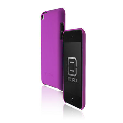Incipio iPod touch 4G feather Hard Shell Case- Purple