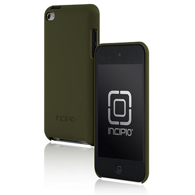 Incipio iPod Touch 4G Feather Hard Shell Case - Green