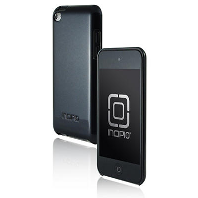 Incipio iPod touch 4G feather Hard Shell Case- Black