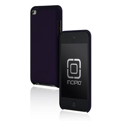 Incipio iPod Touch 4G Feather Hard Shell Case - Purple