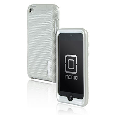 Incipio iPod touch 4G microtexture Silicone Case- White