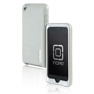 Incipio iPod touch 4G microtexture Silicone Case- White