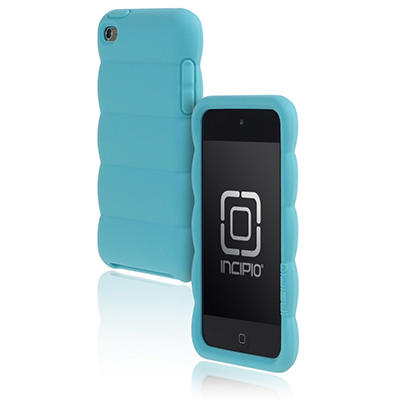 Incipio iPod touch 4G Pillow Soft Silicone Case- Blue