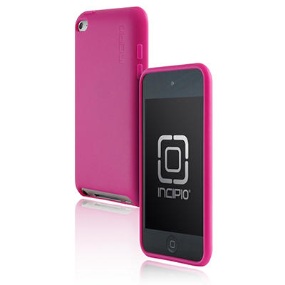 iPod touch 4G NGP Semi-Rigid Soft Shell Case- Pink