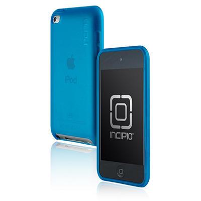 Incipio iPod touch 4G NGP Semi-Rigid Soft Shell Case- Blue