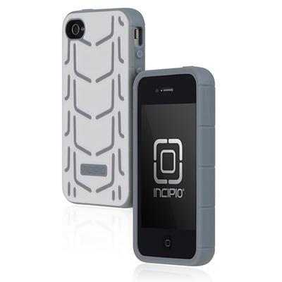 Incipio iPhone 4/4S Invert Rigid Soft Shell Case - White/Gray