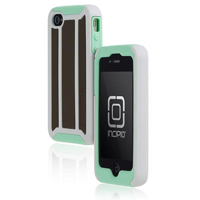 Incipio iPhone 4/4S Delta Hard Shell Case with Silicone Core - Mint Combo