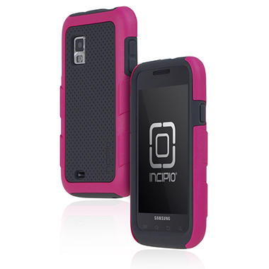 Incipio Samsung Fascinate SILICRYLIC Hard Shell Case - Pink/Gray