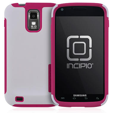 Incipio SILICRYLIC for Samsung Galaxy S II by T-Mobile - White/Pink