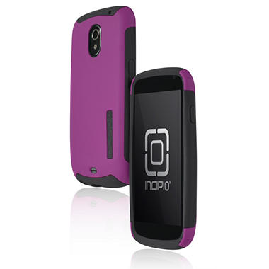 Incipio SILICRYLIC for Samsung Galaxy Nexus - Dark Purple PC /Light Gray Rubber