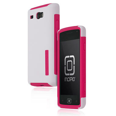 Incipio Samsung Focus Flash SILICRYLIC Hard Shell Case with Silicone Core - White/Pink