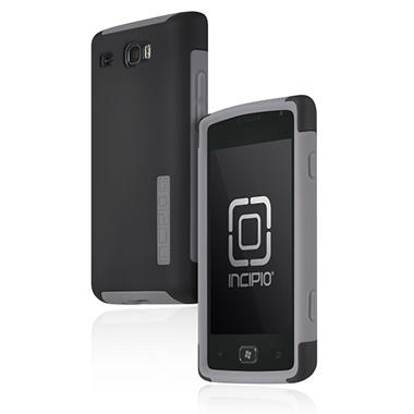 Incipio Samsung Focus Flash SILICRYLIC Hard Shell Case with Silicone Core - Gray