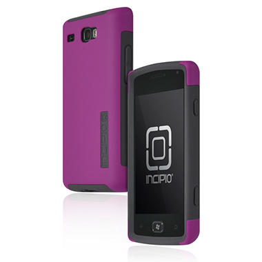 Incipio Samsung Focus Flash SILICRYLIC Hard Shell Case with Silicone Core - Purple/Gray