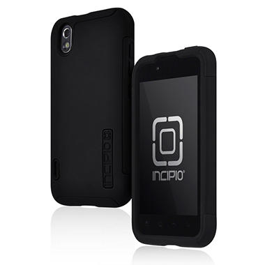 Incipio LG Optimus Black / Marquee SILICRYLIC Hard Shell Case - Black
