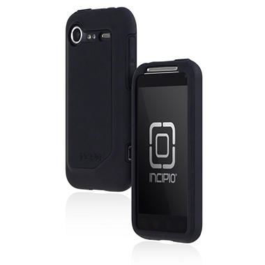 Incipio HTC Incredible 2 Silicrylic Hard Shell Case with Silicone Core-Black