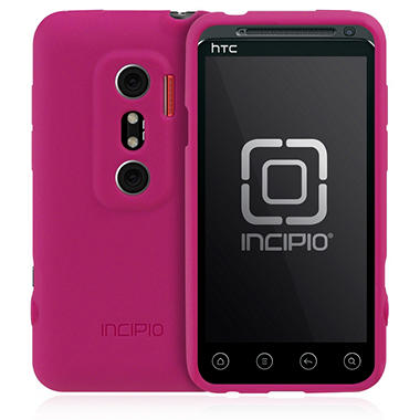 Incipio HTC EVO 3D NGP Semi-Rigid Soft Shell Case - Magenta