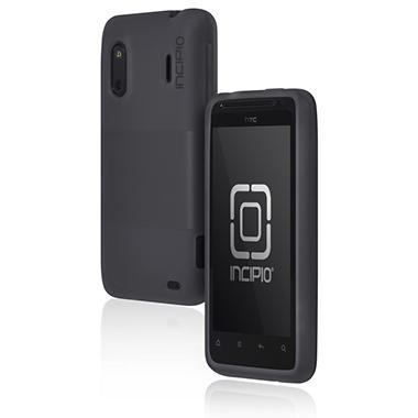 Incipio HTC EVO Design 4G / Hero S NGP Semi-Rigid Soft Shell Case - Mercury