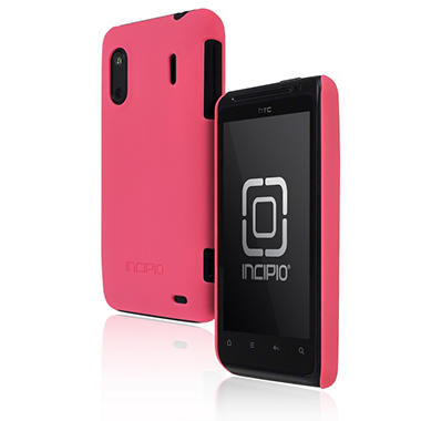 Incipio HTC EVO Design 4G/Hero S feather Ultralight Hard Shell Case-Neon Pink