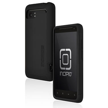 Incipio HTC Vivid SILICRYLIC Hard Shell Case - Black/Black