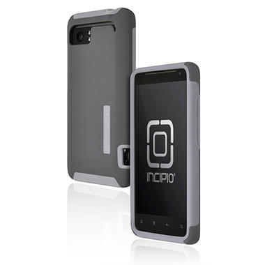 Incipio HTC Vivid SILICRYLIC Hard Shell Case - Dark Gray/Gray