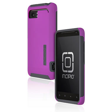 Incipio HTC Vivid SILICRYLIC Hard Shell Case - Dark Purple/Gray