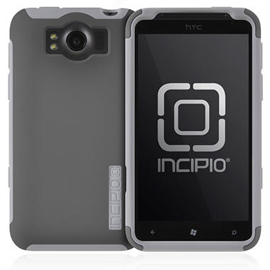 Incipio HTC Titan SILICRYLIC Hard Shell Case - Dark Gray/Gray