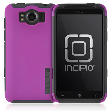 Incipio HTC Titan SILICRYLIC Hard Shell Case - Dark Purple/Gray