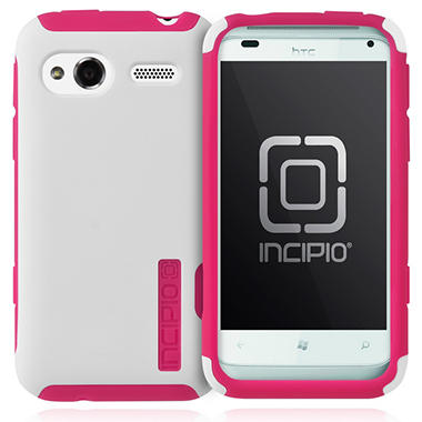 Incipio HTC Radar 4G SILICRYLIC Hard Shell Case - White/Pink
