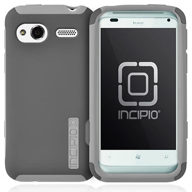 Incipio HTC Radar 4G SILICRYLIC Hard Shell Case - Dark Gray/Gray