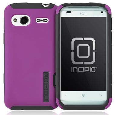 Incipio HTC Radar 4G SILICRYLIC Hard Shell Case - Dark Purple/Gray