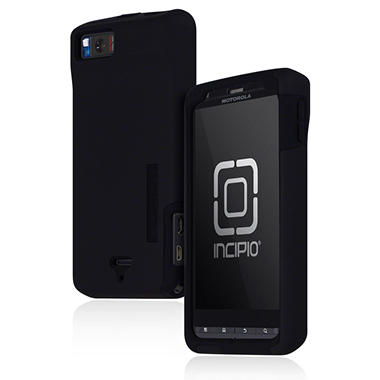 Incipio Motorola DROID X2 SILICRYLIC Hard Shell Case with Silicone Core - Black