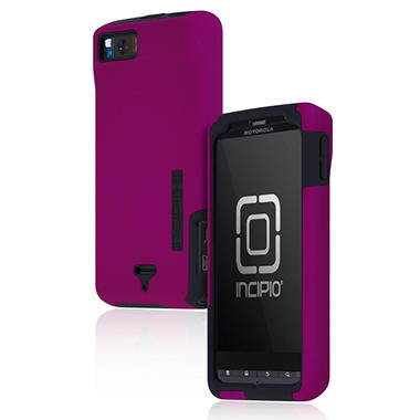 Incipio Motorola DROID X2 SILICRYLIC Hard Shell Case with Silicone Core - Purple/Gray
