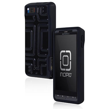 Incipio Motorola Droid X2 Step Semi-Rigid Soft Shell Case - Black
