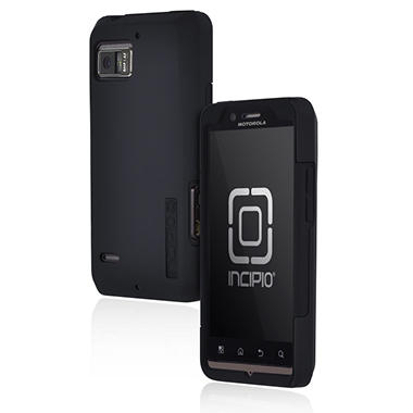 Incipio Motorola DROID BIONIC SILICRYLIC Hard Shell Case with Silicone Core - Black