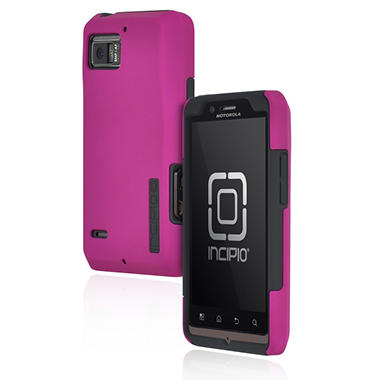 Incipio Motorola DROID BIONIC SILICRYLIC Hard Shell Case with Silicone Core - Purple/Gray