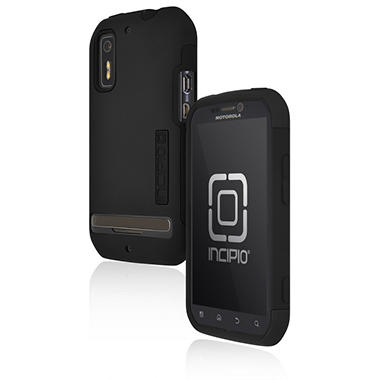Incipio Motorola Photon 4G / ELECTRIFY SILICRYLIC Hard Shell Case with Silicone Core - Black