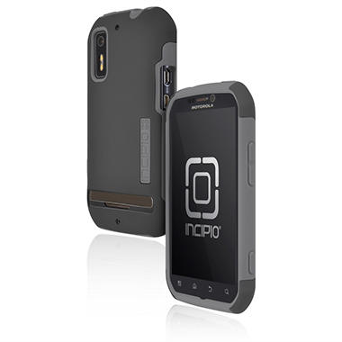 Incipio Motorola Photon 4G / ELECTRIFY SILICRYLIC Hard Shell Case with Silicone Core - Gray