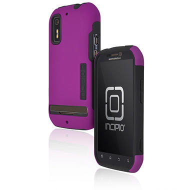 Incipio Motorola Photon 4G / ELECTRIFY SILICRYLIC Hard Shell Case with Silicone Core - Purple/Gray
