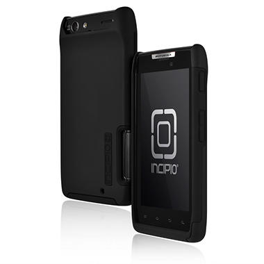 Incipio Motorola DROID RAZR SILICRYLIC Hard Shell Case with Silicone Core - Black