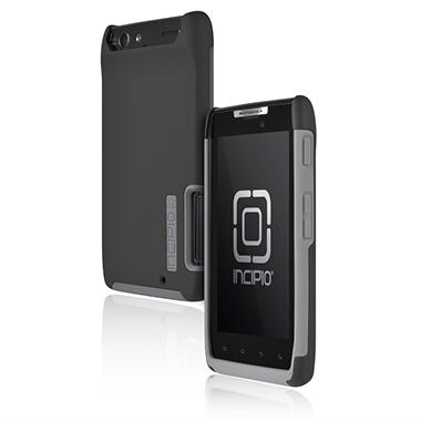 Incipio Motorola DROID RAZR SILICRYLIC Hard Shell Case with Silicone Core - Gray