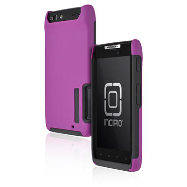 Incipio Motorola DROID RAZR SILICRYLIC Hard Shell Case with Silicone Core - Purple/Gray