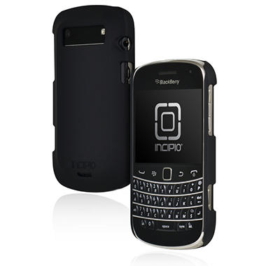 Incipio BlackBerry Bold 9900 9930 feather Ultralight Hard Shell Case - Black