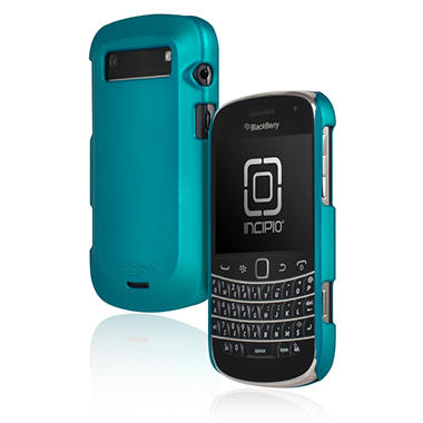Incipio BlackBerry Bold 9900 9930 feather Ultralight Hard Shell Case - Iridescent Turquoise