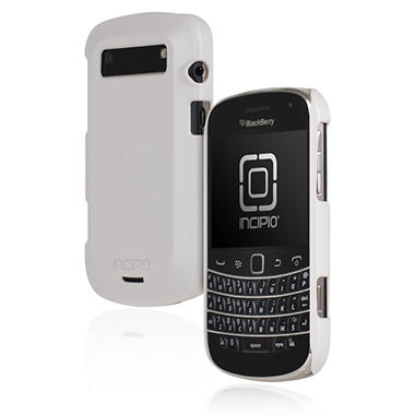 Incipio BlackBerry Bold 9900 9930 feather Ultralight Hard Shell Case - Iridescent White