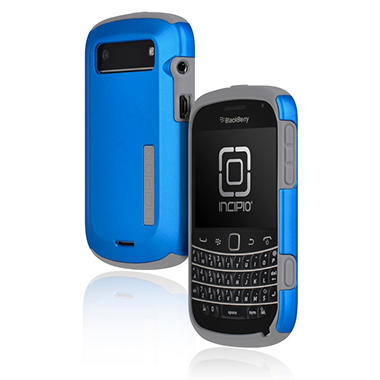 Incipio BlackBerry Bold 9900 9930 SILICRYLIC Hard Shell Case - Iridescent Blue