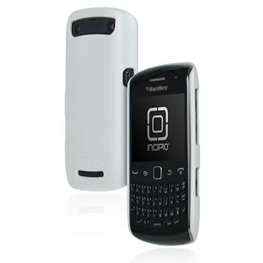 Incipio BlackBerry Curve Feather Ultralight Hard Shell Case - Iridescent White