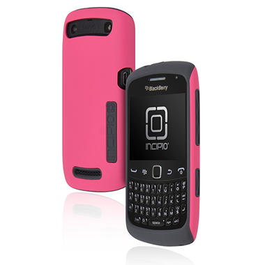 Incipio BlackBerry Curve Silicrylic Hard Shell Case - Pink/Gray