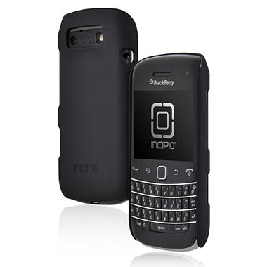 Incipio BlackBerry Bold 9790 feather Ultralight Hard Shell Case – Black